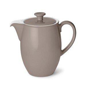 "Kaffeekanne 1,25 l ""Solid Color Kiesel"" Dibbern"
