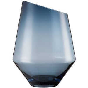 Vase/Windlicht 360 mm blau kla Diamonds ZWIESEL 1872