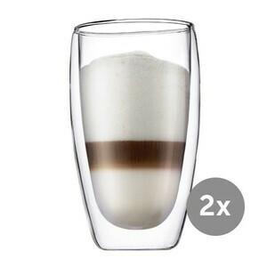 Latte-Macchiato-Glas 0,45 l 2er-Set Pavina Bodum