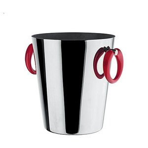 Weinkühler Griff rot Little Pop Alessi