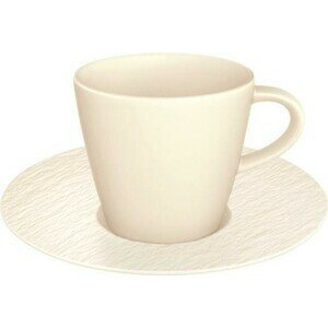Mokka-/Espressotasse 2tlg. Manufacture Rock blanc Villeroy & Boch
