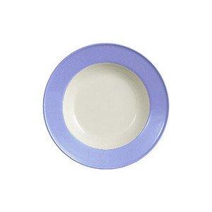 Teller tief 23cm Fahne Solid Color lavendelblau Dibbern