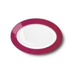 Platte oval 29cm Solid Color himbeere Dibbern