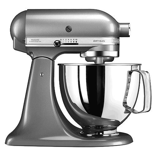 Küchenmaschine 300 Watt m 5KSM175 Artisan kontur-silber ...