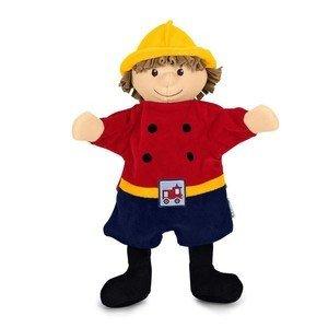 Handpuppe Feuerwehrmann Sterntaler