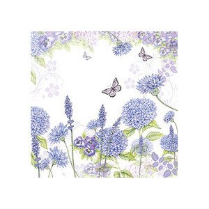 Servietten 25x25 cm Purple Wildflowers Ambiente
