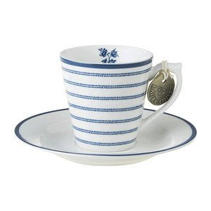Espressotasse m.U. Candy Stripe Laura Ashley
