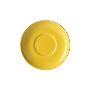 Untertasse 0,25 l Solid Color sonnengelb Dibbern