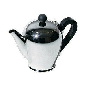 Kaffeekanne 1 ltr. Edelstahl Bombe Alessi