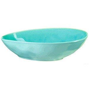 Olivenschale 15,8x12,3cm oval A La Plage turquoise ASA