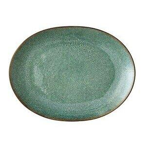 Platte 30 cm schwarz, grün Bitz