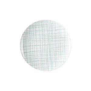 Teller flach 19 cm Mesh Line Aqua Rosenthal