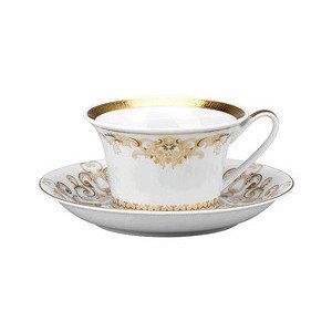 """Teetasse mit Untertasse 2-tlg. 220 ml """"Medusa Gala Gold"""" Versace"""
