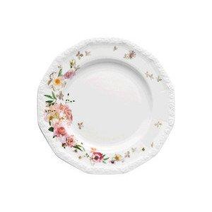 "Speiseteller 25 cm Blumen ""Maria Pink Rose"" Rosenthal"