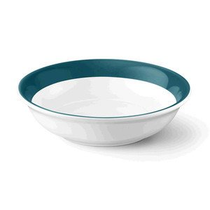 Dessertschale 16 cm 0,4 ltr. Solid Color petrol Dibbern