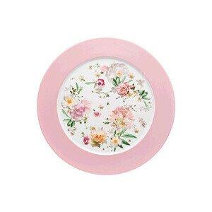 Platzteller 33 cm Blumen Maria Pink Rose Rosenthal