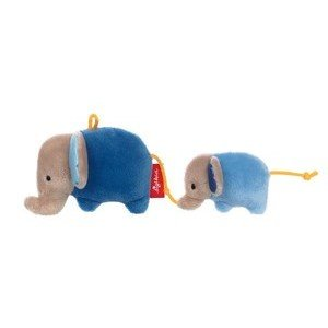 Rassel Elefanten blau Red Stars Sigikid