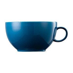 "Cappuccino-Obertasse 380 ml ""Sunny Day Petrol"" petrol Thomas"