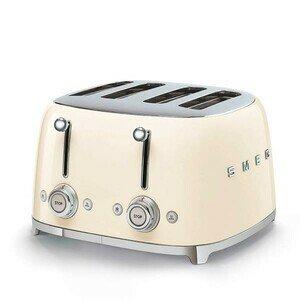 4-Schlitz-Toaster 50's Style creme smeg
