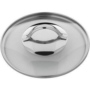 Glasdeckel 16 cm mit Metallgriff WMF