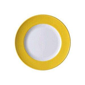 Teller 26 cm Solid Color Sonnengelb flach Dibbern