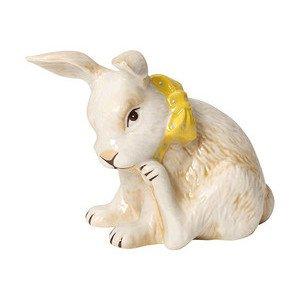 Kaninchen gelbe Schleife 9,5 c Easter Decoration Villeroy & Boch