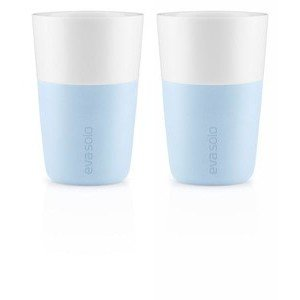 Caffè Latte Becher 2er Set soft blue Eva Solo