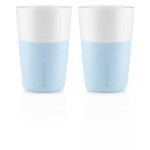Caffè Latte Becher 2er Set soft blue Eva Solo