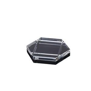 Untersetzer 5 Blockglas Rosenthal