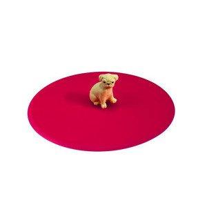 Sommerdeckel Mops Silikon pink rund Lurch
