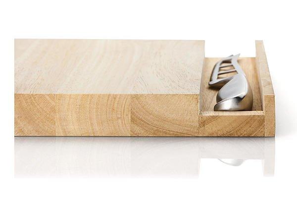 k sebrett mit messer 30 cm gummibaum weitere messer messer schneiden vorbereiten. Black Bedroom Furniture Sets. Home Design Ideas