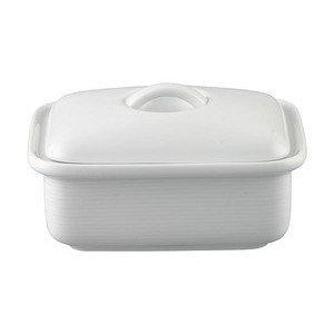 Butterdose 2-tlg. 250 gr Trend Weiß Thomas