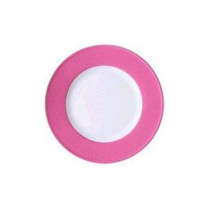 Teller 21cm Fahne Solid Color pink Dibbern