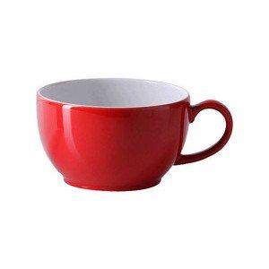 Cappuccinoobertasse 0,3 l Solid Color signalrot Dibbern