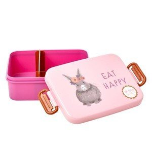 Lunchbox gross Farmanimals pink Rice