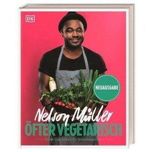 Buch: Öfter vegetarisch Nelson Müller DK Verlag