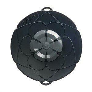 Kochblume anthrazit Durchmesser 29cm Silikon 14-24cm Cookline