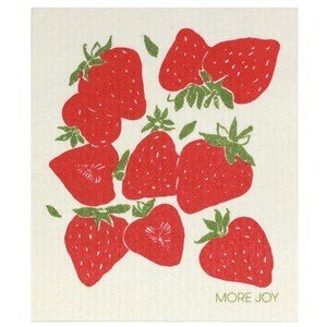 20x17 cm Spültuch Strawberries More Joy