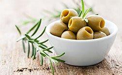 Olivenschalen