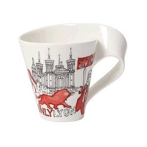 Becher m. Henkel 0,3 l Lyon Cities of the World Mug Villeroy & Boch