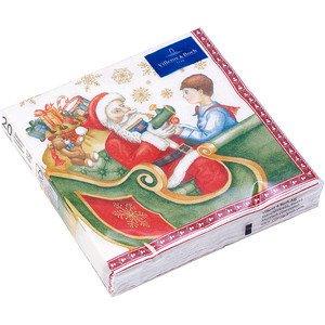 Servietten 33x33 cm Toys Nikolaus Christmas Specials 2017 - Villeroy & Boch