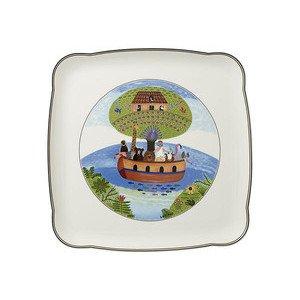 "Platte 30 cm x 30 cm quadratisch ""Charm&Breakfast Design Naif"" Villeroy & Boch"