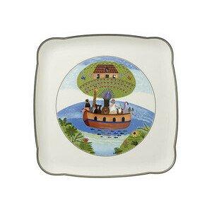 Platte 30 cm x 30 cm quadratisch Charm&Breakfast Design Naif Villeroy & Boch