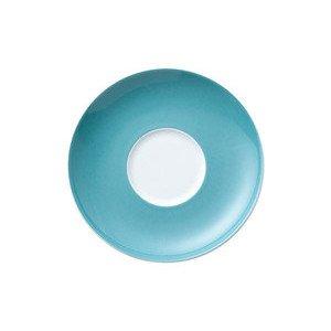 "Cappuccino-Untertasse 16,5 cm rund ""Sunny Day Turquoise"" turquois Thomas"