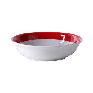 """Dessertschale 16 cm """"Solid Color Signalrot"""" rund Dibbern"""