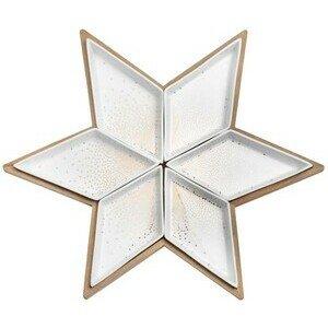 Sternenteller Durchmesser 40cm H.4cm Räder