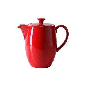 """Kaffeekanne 1,25 l """"Solid Color Signalrot"""" Dibbern"""