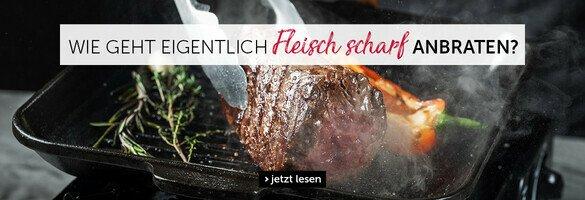 Fleisch Anbraten