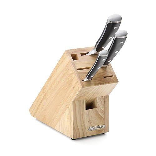 messerblock natur klein gummibaum messerblocks und messersets messer schneiden. Black Bedroom Furniture Sets. Home Design Ideas