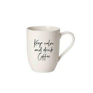 Henkelbecher 0,34 l Statement Keep calm and drink Coffee Villeroy & Boch